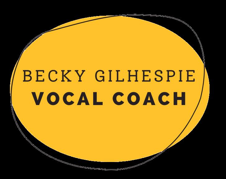 Becky Gilhespie Vocal Courses
